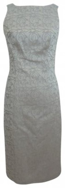 Preload https://item3.tradesy.com/images/silver-sleeveless-evening-knee-length-cocktail-dress-size-4-s-17102-0-0.jpg?width=400&height=650