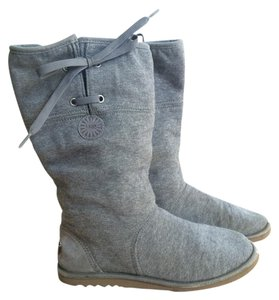 UGG Australia Flannel Gray Boots