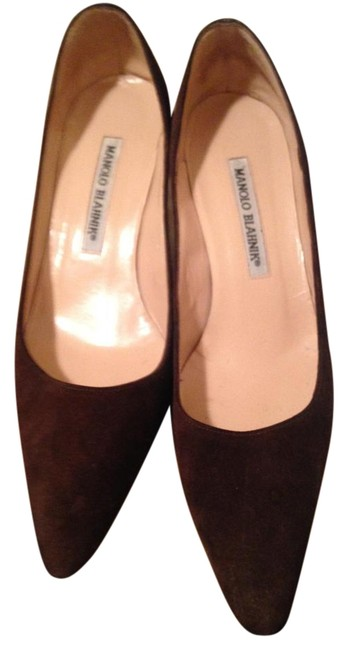 Manolo Blahnik Brown You Can Wear Any Ocasion Pumps Size US 6 Regular (M, B) Manolo Blahnik Brown You Can Wear Any Ocasion Pumps Size US 6 Regular (M, B) Image 1
