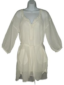 Plenty by Tracy Reese short dress Linen Cotton Gauze Tunic on Tradesy