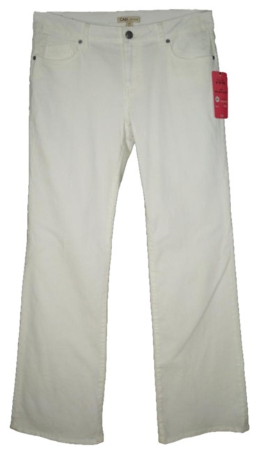 Item - White Light Wash #218 Wide Tall Straight Leg Jeans Size 33 (10, M)