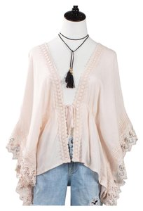 Other Bohemian Free People Anthropologie Cardigan Lace Tunic