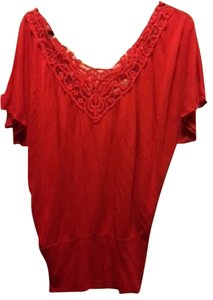 Arden B Top Coral