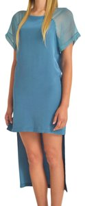 annie + jade short dress Blue on Tradesy