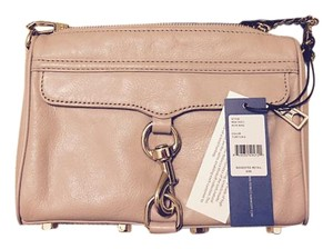 Rebecca Minkoff Grey Mini Mac Cross Body Bag