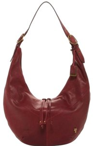 Frye Belle Leather Hobo Bag