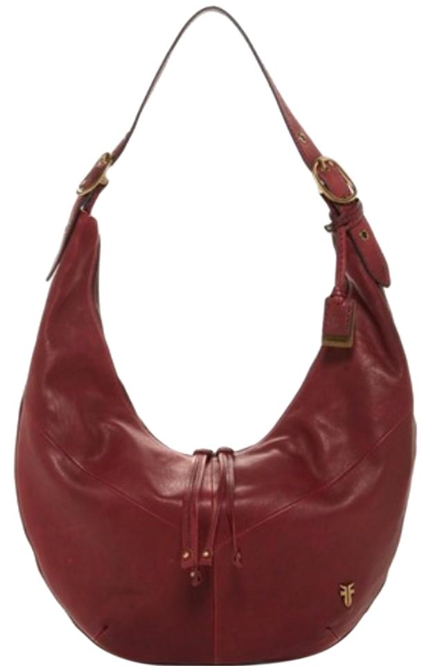 f3f469f64c65da Frye Belle Bohemian Whiskey Or Wine Leather Hobo Bag - Tradesy