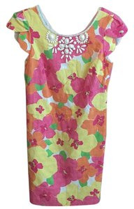 Lilly Pulitzer short dress Floral punch on Tradesy