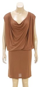 Cline short dress Brown on Tradesy