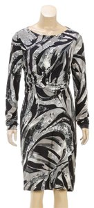 Emilio Pucci short dress Black/Gray on Tradesy