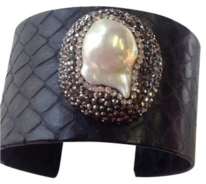 Other Drusy Pearl And Leather