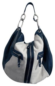 Gianfranco Ferre White Hobo Bag
