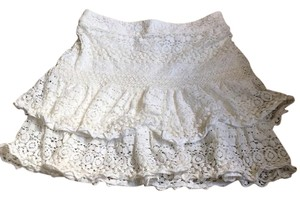 H&M Mini Skirt White