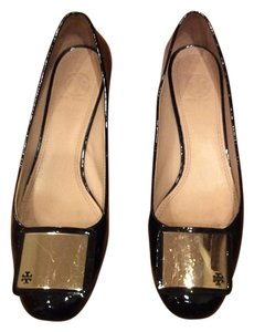 Tory Burch Black/ dark brown Pumps