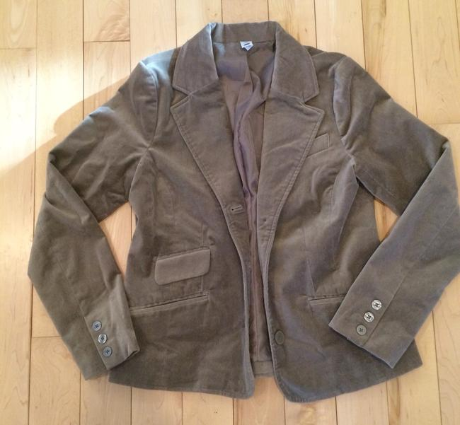 Old Navy Beige Olive Putty Blazer