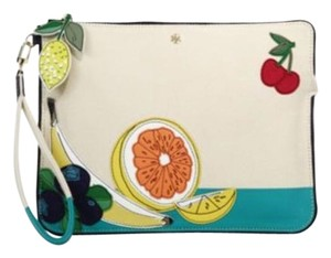 Tory Burch Fruit Wristlet in NATURAL MULTI COLORS