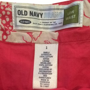 Old Navy Skirt Pink Ivory Light Blue