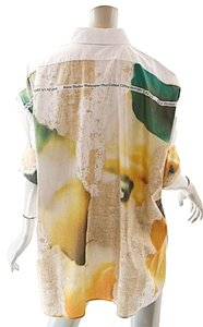 Acne Studios Floral Buttondown Top White w/Multi Color