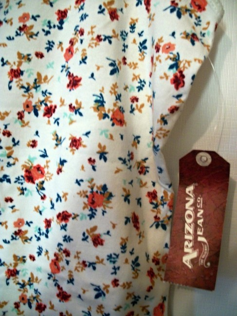 Arizona Floral Sleeveless Top Multicolor Image 2