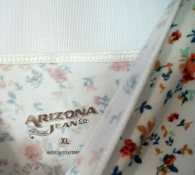 Arizona Floral Sleeveless Top Multicolor Image 3