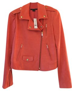 Theory Leather Lambskin Coral Leather Jacket