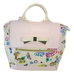 Betsey Johnson Medium Floral Backpack