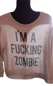 DAYDREAMER Zombie Halloween Festival Beach Jumper Sweater
