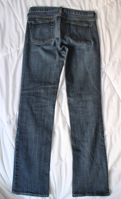 J.Crew Matchstick Petite Short Size 27 Straight Leg Jeans-Medium Wash