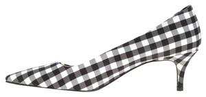 J.Crew Dulci Heels Black and white gingham Pumps