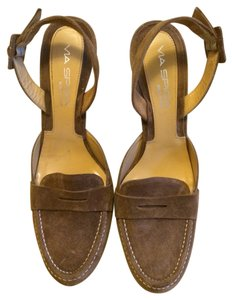 Via Spiga Made In Italy Brown Pumps