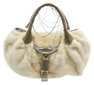 Fendi Spy Limited Edition Mink Fur Shoulder Bag