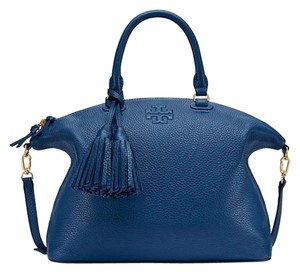 Tory Burch Satchel in Tidal Wave Blue