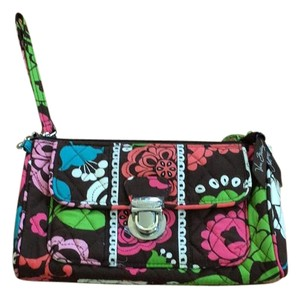 Vera Bradley Wristlet in Brown