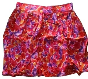 Frenchi Skirt pink, purple, orange