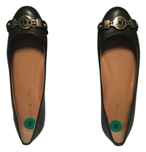 Tommy Hilfiger BRAND NEW - Black with Gold accent Flats