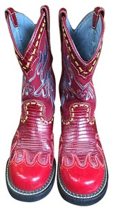 Ariat Leather Suede red Boots