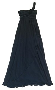 City Studios Chiffon Full Length Dress