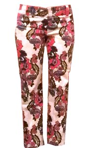J.Crew Floral Straight Pants multicolor