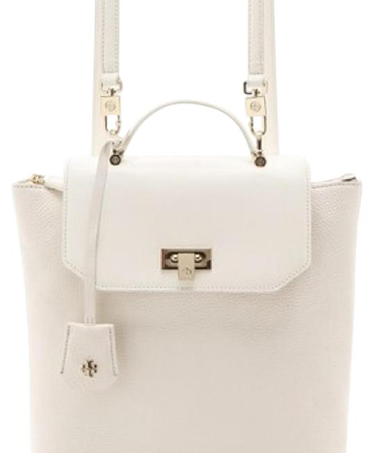 Item - Ellen Tall 12149907 New Ivory Leather Backpack