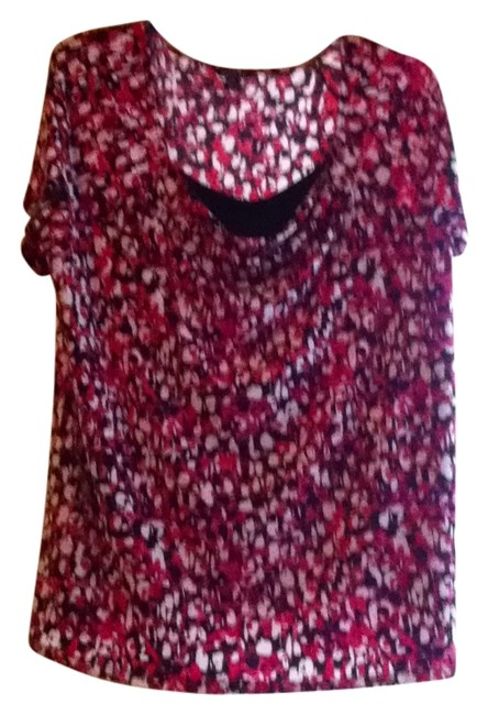 Preload https://img-static.tradesy.com/item/171106/george-red-black-and-white-blouse-size-18-xl-plus-0x-0-0-650-650.jpg