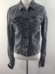 Rag & Bone Denim Acidwash Gray Womens Jean Jacket