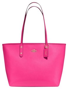 Coach City Tote in Pink