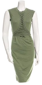 Dior short dress Olive on Tradesy