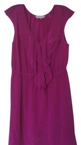 Rebecca Taylor short dress Fuchsia on Tradesy