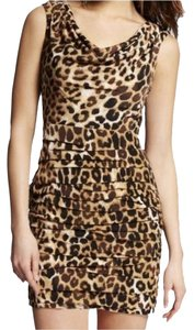 Express New Year Party Clubbing Draped Dress