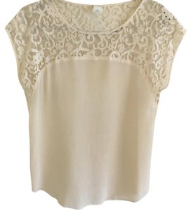 Club Monaco Top Cream