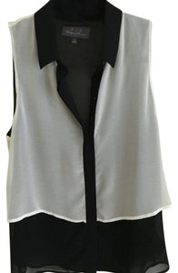 Patterson J. Kincaid Top Black, white