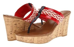 Tommy Hilfiger Red Sandals