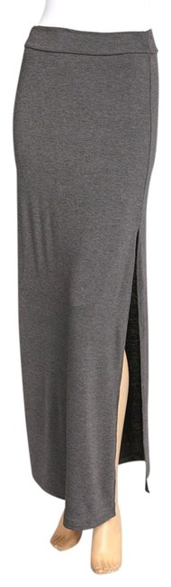 Item - New Charcoal Gray Long Skirt Size 12 (L, 32, 33)