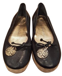 Juicy Couture Espadrille Black Flats